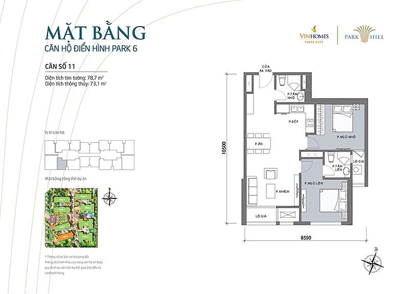 Vinhomes Park Hill 6 can 11