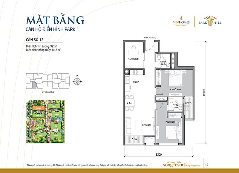 Vinhomes Times City Park 1 can 12