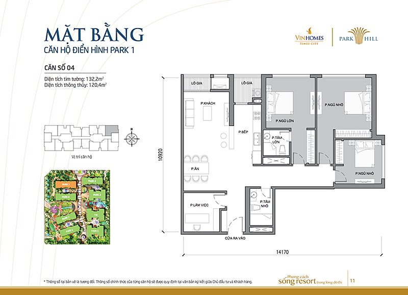 Vinhomes Times City Park 1 can 4