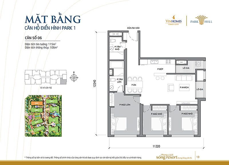 Vinhomes Times City Park 1 can 6