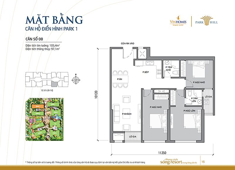 Vinhomes Times City Park 1 can 8