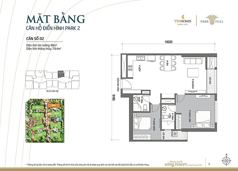 Vinhomes Times City Park 2 can 2