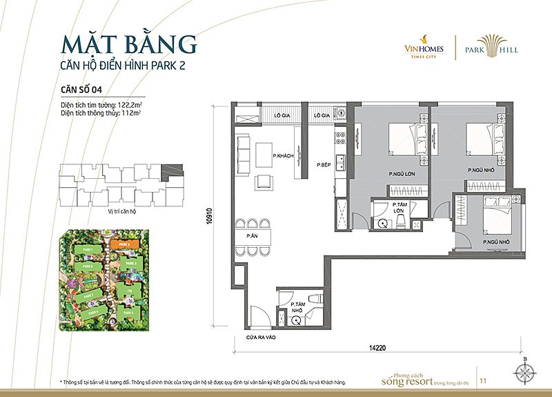 Vinhomes Times City Park 2 can 4