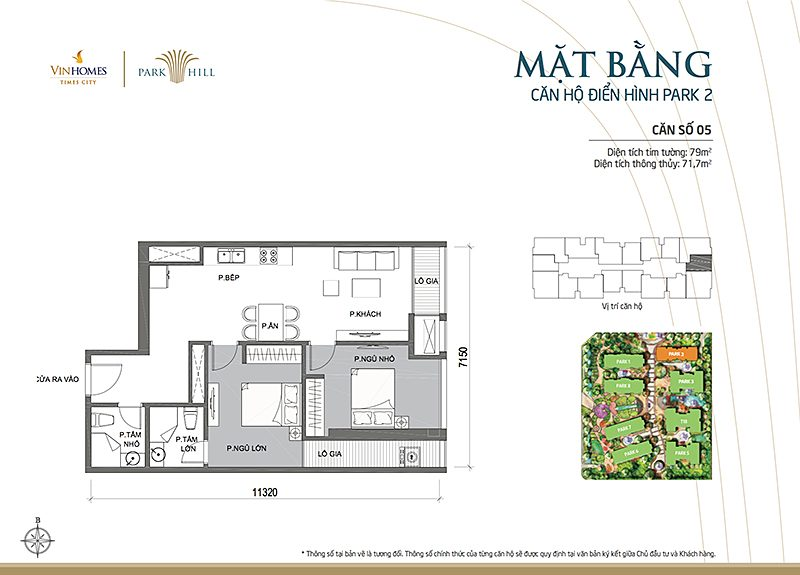 Vinhomes Times City Park 2 can 5