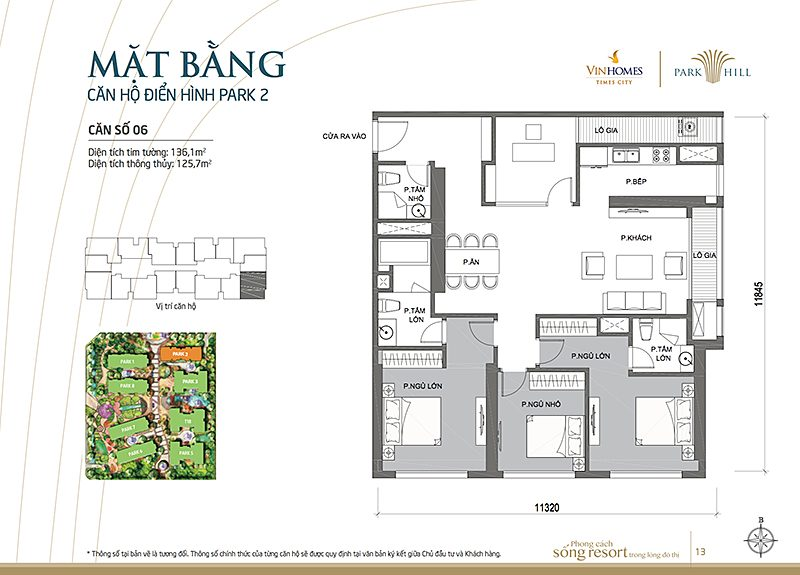 Vinhomes Times City Park 2 can 6