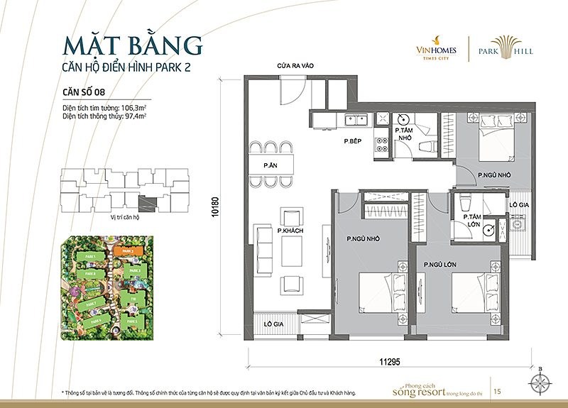 Vinhomes Times City Park 2 can 8