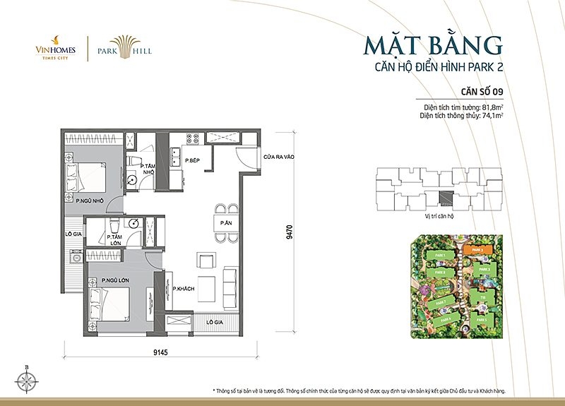 Vinhomes Times City Park 2 can 9