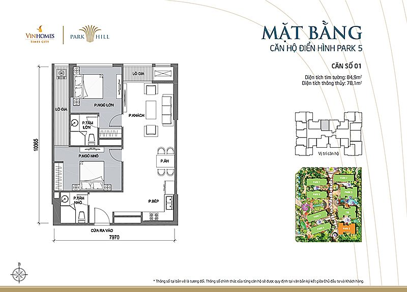 Vinhomes Times City Park 5 can 1