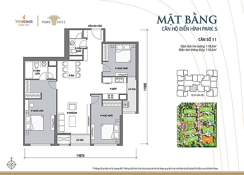 Vinhomes Times City Park 5 can 11