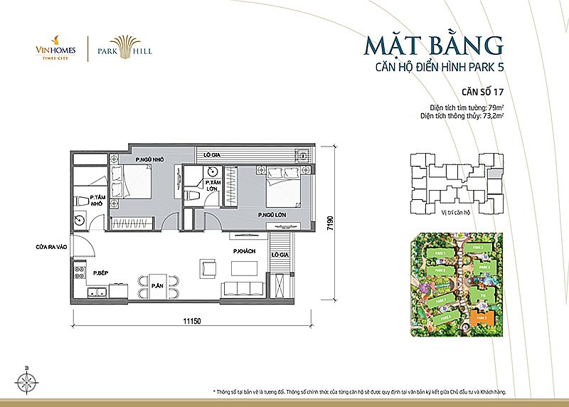 Vinhomes Times City Park 5 can 17