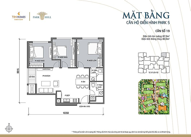 Vinhomes Times City Park 5 can 19