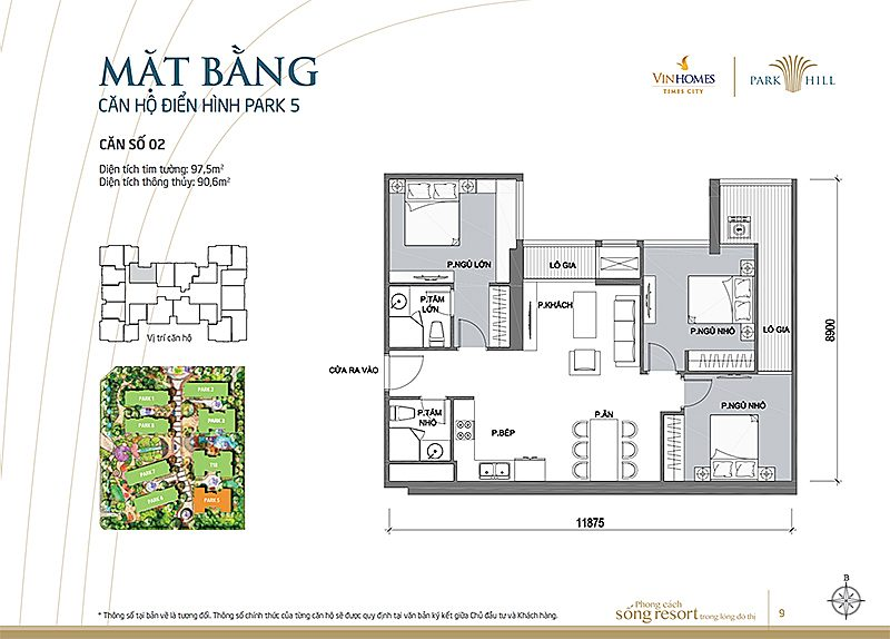 Vinhomes Times City Park 5 can 2