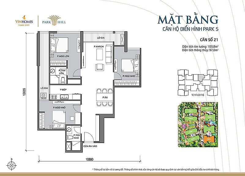 Vinhomes Times City Park 5 can 21