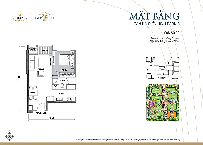 Vinhomes Times City Park 5 can 3