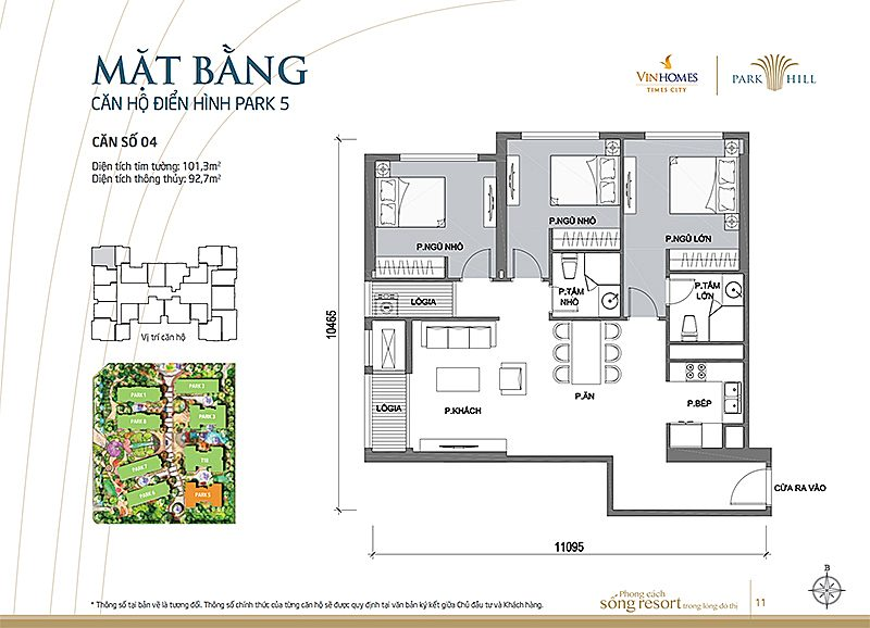 Vinhomes Times City Park 5 can 4