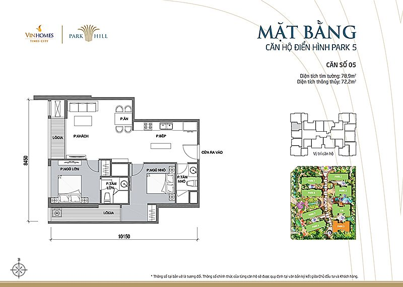 Vinhomes Times City Park 5 can 5