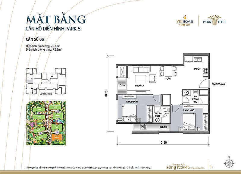 Vinhomes Times City Park 5 can 6