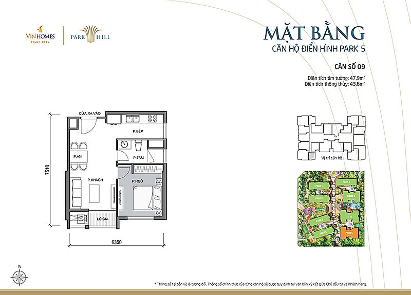 Vinhomes Times City Park 5 can 9