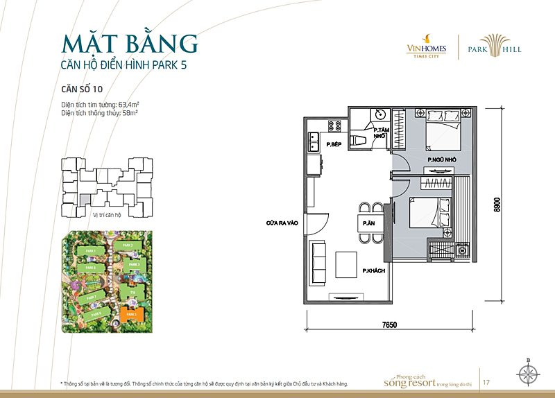 Vinhomes times city park 5 can 10