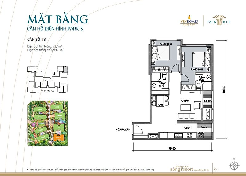 Vinhomes times city park 5 can 18